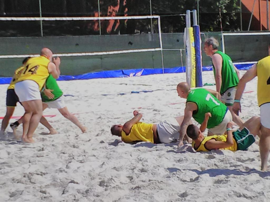 rugby sulla sabbia